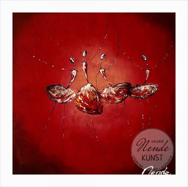 4 ballerina's rood