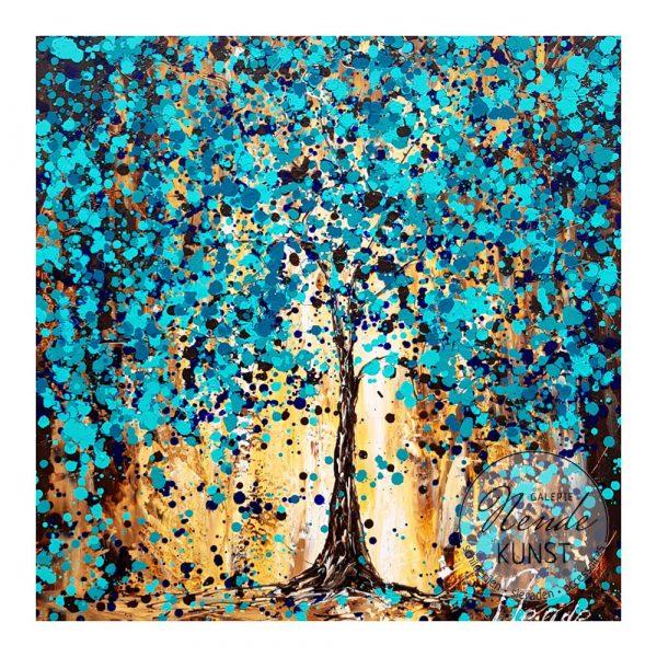 blauwe boom